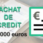 Rachat de crédit de 160 000 euros