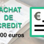 Rachat de crédit de 80 000 euros