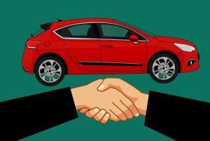 Demande de prêt auto d'occasion