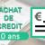 Rachat de crédits 10 ans – 120 mois