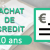 Rachat de crédits 20 ans – 240 mois