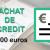 Rachat de crédit de 15 000 euros
