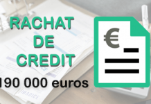 rachat de credit 190 000 euros