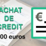Rachat de crédit de 20 000 euros