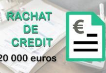 rachat de credit 20 000 euros