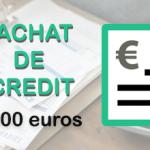 Rachat de crédit de 40 000 euros