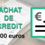 Rachat de crédit de 60 000 euros