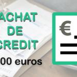 Rachat de crédit de 70 000 euros