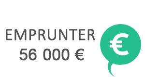 credit 56000 euros