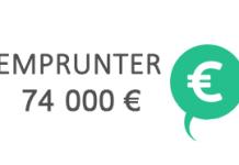 credit 74000 euros